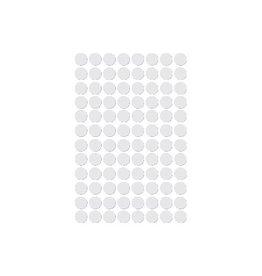 Apli Apli ronde etiketten in etui 8mm wit, 480st, 96/blad (1183)