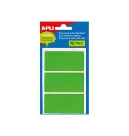 Apli Apli gekleurde etiketten in etui groen (2074)