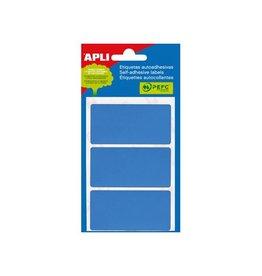 Apli Apli gekleurde etiketten in etui blauw (2072)