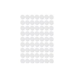 Apli Apli ronde etik. in etui 10 mm, wit, 378st, 63/bl (2660)
