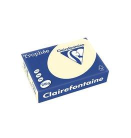 Clairefontaine Papier Clairefontaine Trophée Pastel A4, 210 g, 250 vel, crème