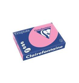 Clairefontaine Papier Clairefontaine Trophée Pastel A4, 80 g, 500 vel, felroze