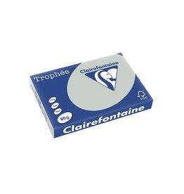 Clairefontaine Papier Clairefontaine Trophée Pastel A3, 80 g, 500 vel, lichtgrijs