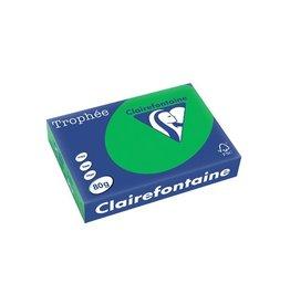 Clairefontaine Papier Clairefontaine Trophée Intens A4 biljartgroen, 80 g, 500 vel