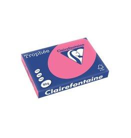 Clairefontaine Papier Clairefontaine Trophée Intens A3, 80 g, 500 vel, fuchsia