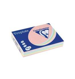 Clairefontaine Papier Clairefontaine Trophée Pastel A4, 80 g, 5 x 100 vel, assorti