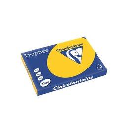 Clairefontaine Papier Clairefontaine Trophée Intens A3 120g 250vel zonnebloemgeel