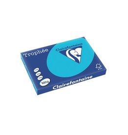 Clairefontaine Papier Clairefontaine Trophée Intens A3, 120g, 250vel, koningsblauw