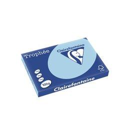 Clairefontaine Papier Clairefontaine Trophée Pastel A3, 120 g, 250 vel, blauw