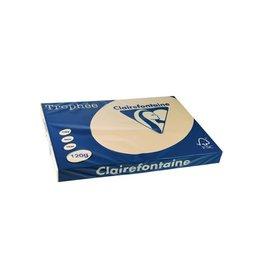 Clairefontaine Papier Clairefontaine Trophée Pastel A3 parelgrijs, 120 g, 250 vel