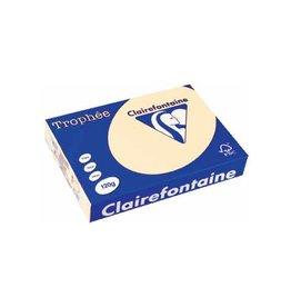 Clairefontaine Papier Clairefontaine Trophée Pastel A4 crème, 120 g, 250 vel