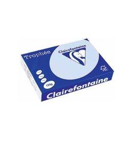 Clairefontaine Papier Clairefontaine Trophée Pastel A4, 120 g, 250 vel, azuur