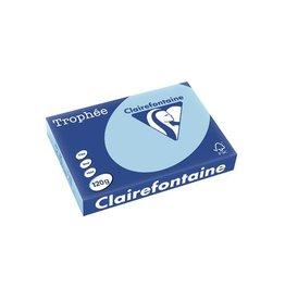 Clairefontaine Papier Clairefontaine Trophée Pastel A4, 120 g, 250 vel, blauw