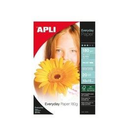Apli Apli fotopapier Everyday ft 10 x 15 cm, 180 g, 20 vel