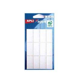 Agipa Agipa witte etiketten in etui 15x35mm (bxh), 84st, 12/blad