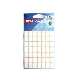 Agipa Agipa witte etiketten in etui 9x13mm (bxh), 343st, 49/blad