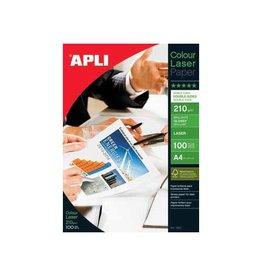 Apli Apli fotopapier Colour Laser ft A4, 210 g, pak van 100 vel