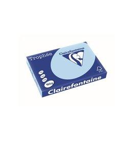 Clairefontaine Papier Clairefontaine Trophée Pastel A3, 160 g, 250 vel, blauw