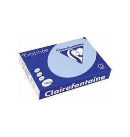 Clairefontaine Papier Clairefontaine Trophée Pastel A4, 160 g, 250 vel, blauw