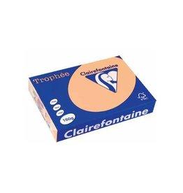 Clairefontaine Papier Clairefontaine Trophée Pastel A4, 160 g, 250 vel, zalm
