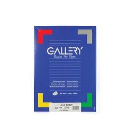 Gallery Gallery witte etik. 105x48mm rechte hoeken 1.200 etik.