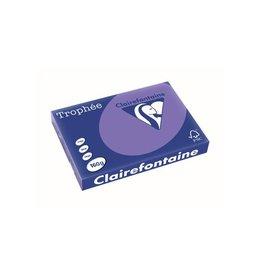 Clairefontaine Papier Clairefontaine Trophée Intens A3, 160 g, 250 vel, violet