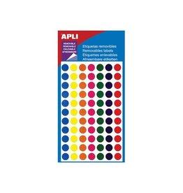 Apli Apli verwijderbare etiketten cirkel 8 mm (b x h), 308 stuks