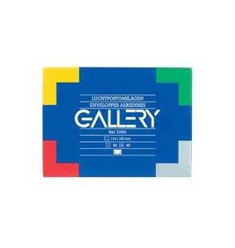 Gallery Gallery luchtpostenveloppen, 114x162mm,gegomd, doos van 50st