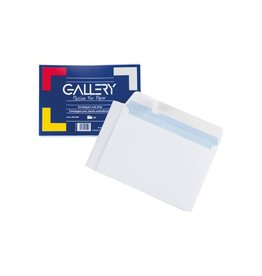 Gallery Gallery enveloppen 114 x 162 mm, stripsluiting, pak van 50st