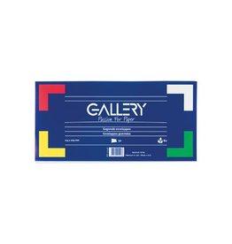 Gallery Gallery enveloppen ft 114 x 229 mm, gegomd, pak van 50 stuks