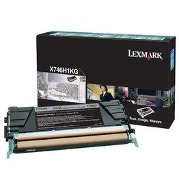Lexmark Lexmark X746H1KG toner black 12000 pages return (original)