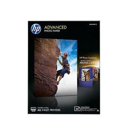 HP Inkjetpapier HP Q8696A 13x18cm Wit Glossy 250gr 25vel