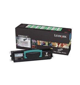 Lexmark Lexmark E352H11E toner black 9000 pages return (original)
