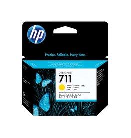 HP HP 711 (CZ136A) 3pack yellow 3x29ml (original)