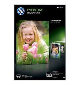 HP HP Everyday fotopapier ft 10x15cm, 200 g, 100 vel, glanzend