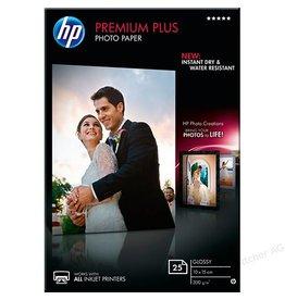 HP HP Premium Plus fotopapier 10x15cm, 300 g, 25 vel, glanzend