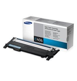 Samsung Samsung CLT-C406S (ST984A) toner cyan 1000 pages (original)