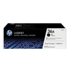 HP HP 36A (CB436AD) duopack black 2x2000 pages (original)