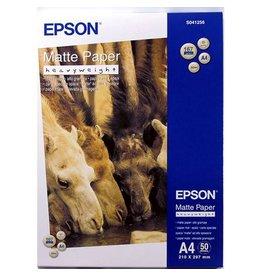 Epson Fotopapier Epson SO41256 A4 167gr Wit Mat 50vel