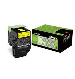 Lexmark Lexmark 802HY (80C2HY0) toner yellow 3K return (original)