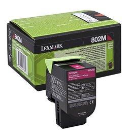 Lexmark Lexmark 802M (80C20M0) toner magenta 1K return (original)