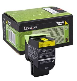 Lexmark Lexmark 702Y (70C20Y0) toner yellow 1K return (original)