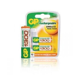 GP Battery GP NiMH rechargable AA (2)