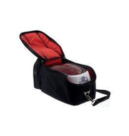 Badgy Badgy reistas voor Badgy printer 100 en 200, zwart/rood