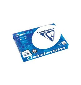 Clairefontaine Clairefontaine Clairalfa presentatiepapier A4,300g pak125vel