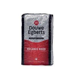 Douwe Egberts Douwe Egberts gemalen koffie voor snelfilters Rood,pak 1kg