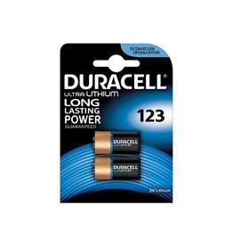 Duracell Duracell Ultra Lithium 123, blister van 2 stuks