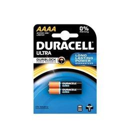 Duracell Duracell batterijen Ultra Power AAAA, blister van 2 stuks