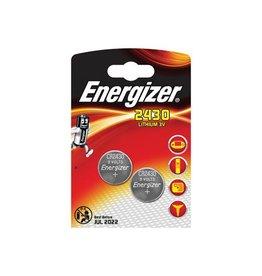 Energizer Energizer knoopcel CR2430, blister van 2 stuks