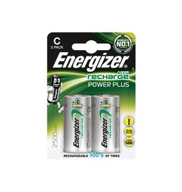 Energizer Energizer herlaadbare batterijen Power Plus C,blister 2st